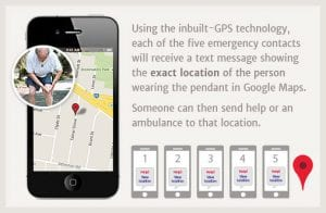 mobile medical alert systems slider 6 gps fall detect