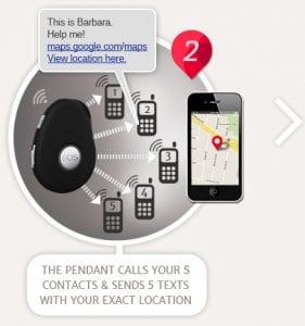 livelife first alert personal alarm pendant step 2