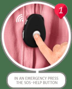mobile medical fall alert personal alarm service step1 img 1