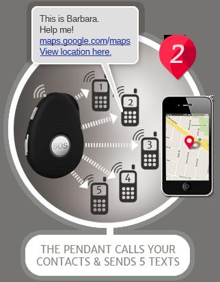 How the live life mobile medical alarm system works aloadofball Images