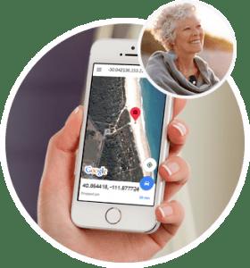 iphone medical alarm pendant gps fall detect