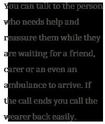 medical mobile alarm system calls 911