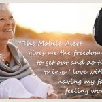 mobile medical alert system fall alarm works anywhere