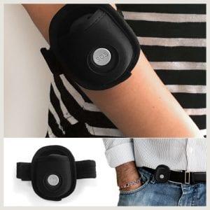 arm wrist belt pouch live life mobile alarm