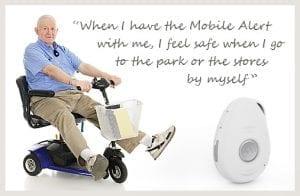 mobile medical alert systems fall alarm gps slider white senior