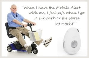 mobile medical alert systems fall alarm gps slider white senior lifeline