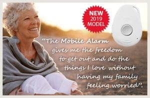mobile medical alert system fall alarm works anywhere