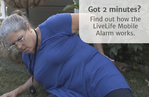 how live life alarms fall detection works