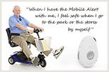 mobile-medical alert systems fall alarm gps slider white senior small