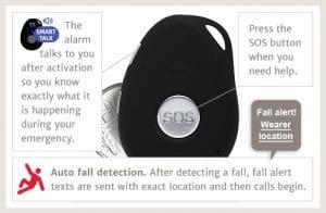 medical alert system mobile fall detection alert