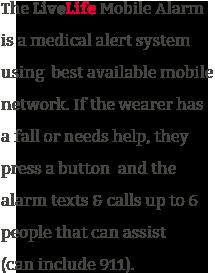 ow mobile medical alert system fall alarm works
